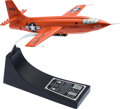 """Explorers:Space Exploration, X-1: Chuck Yeager Signed """"Glamorous Glennis"""" Rocket Resear..."""