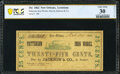 Obsoletes By State:Louisiana, New Orleans, LA- Patterson Iron Works/Jackson & Co. 25¢ Mar. 24, 1862 PCGS Banknote Very Fine 30 Details.. ...