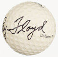Golf Collectibles:Autographs, Ray Floyd Signed Golf Ball. ...