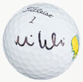 Golf Collectibles:Autographs, Mike Weir Signed Masters Golf Ball....