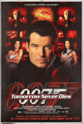 "Movie Posters:James Bond, Tomorrow Never Dies (United Artists, 1997). Rolled, Very Fine. Bus Shelter (47.5"" X 71"") DS Advance. James Bond. From the ..."
