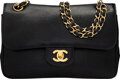 """Luxury Accessories:Bags, Chanel Vintage Black Lizard Small Double Flap Bag. Condition: 4. 9"""" Width x 6"""" Height x 2.5"""" Depth. ..."""