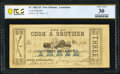 Obsoletes By State:Louisiana, New Orleans, LA- Cook & Brother $3 Apr. 15, 1862 PCGS Banknote Very Fine 30.. ...