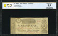 Obsoletes By State:Louisiana, New Orleans, LA- R. Brauss & Co. $3 ND (ca. 1861-62) PCGS Banknote Choice Fine 15.. ...