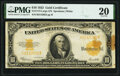 Large Size:Gold Certificates, Fr. 1173 $10 1922 Gold Certificate PMG Very Fine 20.. ...