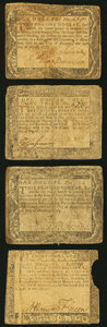 Colonial Notes:Maryland, Maryland December 7, 1775 $1 Very Good;. Maryland August 14, 1776 $1; $1-1/3; $8 Very Good or Better.