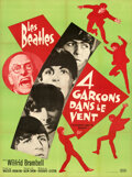 """Movie Posters:Rock and Roll, A Hard Day's Night (United Artists, 1964). Very Fine- on Linen. Full-Bleed French Grande (46.25"""" X 62.25"""").. ..."""