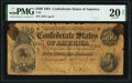 Confederate Notes:1864 Issues, T64 $500 1864 PF-2 Cr. 489 PMG Very Fine 20. S...