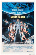 "Movie Posters:James Bond, Moonraker (United Artists, 1979). Folded, Very Fine-. International One Sheet (27"" X 41"") Teaser, Style B, Dan Goozee Artwor..."