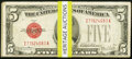 Twenty-One $5 Legal Tender Notes. Very Good or Better; Fr. 1656 $5 1953A Silver Certificates. Six Examples. Ver... (Tota...