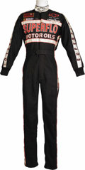 "Movie/TV Memorabilia:Costumes, Tom Cruise ""Days of Thunder"" Racing Suit. An authentic Simpson brand flame retardent racing suit worn by Cruise in the 1990 ..."