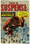 Silver Age (1956-1969):Adventure, Tales of Suspense #25 (Marvel, 1962) Condition: FN....