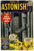 Silver Age (1956-1969):Horror, Tales to Astonish #1 (Marvel, 1959) Condition: GD+....