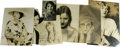 Movie/TV Memorabilia:Autographs and Signed Items, Female Star Signed Photos Group of 7. Top-billed in this lot oflady stars are Kay Francis, Warner Bros. elegant brunette cl...
