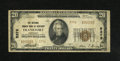 National Bank Notes:Kentucky, Frankfort, KY - $20 1929 Ty. 2 The National Branch Bank of KentuckyCh. # 5376. Type 1s outnumber Type 2s on this bank b...