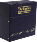 "Music Memorabilia:Recordings, ""The Beatles Singles Collection"" 45s/Picture Sleeve Box Set of 26 (UK Parlophone, 1982). This set marked the first time that..."
