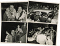 """Movie/TV Memorabilia:Photos, Ava Gardner and Frank Sinatra in Hawaii Photos. This set of four b&w 5"""" x 7"""" photos were taken during a visit to Hawaii by G..."""