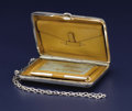 Silver Smalls:Other , An American Silver Calling Card Case. R. Blackinton & Co.,North Attleboro, Massachusetts. Circa 1900-1920. Silver, leathe...