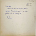 Music Memorabilia:Recordings, Beach Boys/ Carl and the Passions Test Pressing Group of 2 (Columbia Record Productions, 1972). With Brian Wilson mostly inc... (Total: 2 )