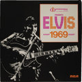 """Music Memorabilia:Recordings, Elvis Presley """"International Hotel Presents Elvis"""" Box Set (RCA Victor, 1969). Never one to miss a chance to package, and, i..."""