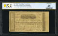 Obsoletes By State:Louisiana, Franklin, LA- Treasurer of the Town of Franklin $5 Aug. 15, 1862 PCGS Banknote Very Fine 20.. ...