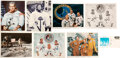 Explorers:Space Exploration, NASA Astronauts: Great Collection of Eight Astronaut-Signe...