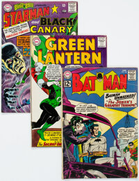 DC Silver Age Comics Group of 38 (DC, 1960s) Condition: Average VG.... (Total: 38 Comic Books)
