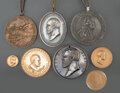American Indian Art:Jewelry and Silverwork, Eight Peace Medals... (Total: 8 )