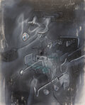 Paintings, Roberto Matta (1911-2002). Untitled, 1973. Oil on canvas. 31-1/8 x 25-1/4 inches (79 x 64 cm). Signed lower right. ...