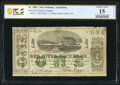 Obsoletes By State:Louisiana, New Orleans, LA- Red River Packet Co. $1 Dec. 1, 1861 PCGS Banknote Choice Fine 15.. ...