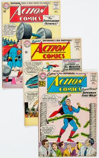 Action Comics Group of 11 (DC, 1962-66) Condition: Average VG.... (Total: 11 Comic Books)