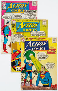Action Comics Group of 19 (DC, 1959-1965) Condition: Average GD.... (Total: 19 Comic Books)