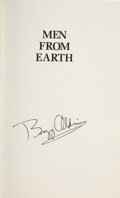 Explorers:Space Exploration, Buzz Aldrin Signed Book: Men From Earth