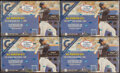 Baseball Cards:Unopened Packs/Display Boxes, 2002 Topps Gallery Museum Edition Baseball Unopened Hobby Box Lot of 4. ...