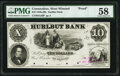 Obsoletes By State:Connecticut, West Winsted, CT- Hurlbut Bank $10 18__ G26 Proof ...
