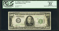 Small Size:Federal Reserve Notes, Fr. 2202-G $500 1934A Federal Reserve Note. PCGS Apparent About New 53.. ...