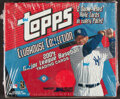 Baseball Cards:Unopened Packs/Display Boxes, 2004 Topps Clubhouse Collection Baseball Hobby Box With 10 Unopened Packs....