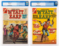 Silver Age (1956-1969):Western, Wyatt Earp Frontier Marshall #63 and 64 CGC-Graded Group (Charlton, 1966).... (Total: 2 Comic Books)