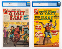 Wyatt Earp Frontier Marshall #63 and 64 CGC-Graded Group (Charlton, 1966).... (Total: 2 Comic Books)