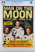 Explorers:Space Exploration, Magazines: Man on the Moon July 20, 1969 A.D...