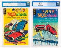 Mod Wheels #1 and 2 CGC-Graded Group (Gold Key, 1971).... (Total: 2 Comic Books)