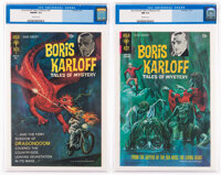 Boris Karloff Tales of Mystery #32 and 34 CGC-Graded Group (Gold Key, 1970-71).... (Total: 2 Comic Books)