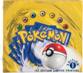 Memorabilia:Trading Cards, Pokémon First Edition Base Set Sealed Booster Box (Wizards of the Coast, 1999)....