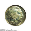 Proof Buffalo Nickels: , 1936 5C Type One--Satin Finish PR67 PCGS. From a ...