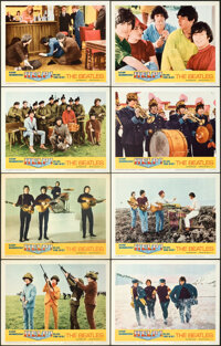 """Help! (United Artists, 1965). Overall: Very Fine. Lobby Card Set of 8 (11"""" X 14""""). ... (Total: 8 Items)"""