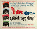 Movie Posters:Rock and Roll, A Hard Day's Night (United Artists, 1964). Very Fine+ on L...