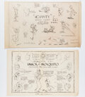 Animation Art:Model Sheet, Mr. Bug Goes to Town Studio Model Sh...
