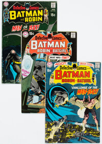 Detective Comics #400-450 Group (DC, 1970-74) Condition: Average VG.... (Total: 51 Comic Books)