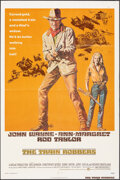 """Movie Posters:Western, The Train Robbers (Warner Bros., 1973). Folded, Fine+. One Sheets (2) Identical (27"""" X 41"""") Style A, Robert Tanenbaum..."""