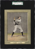 "Baseball Cards:Singles (Pre-1930), 1911 M110 Sporting Life Cabinets Napoleon ""Larry"" Lajoie SGC 50 VG/EX 4 - Pop One, Five Higher. ..."